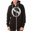 Zip Hood Logo Black